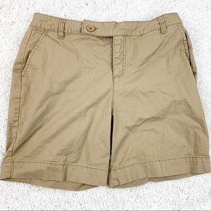 Style & Co Casual Tan Shorts Size 10
